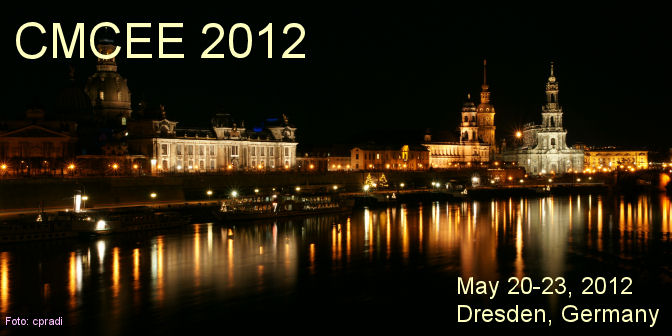 CMCEE - International Symposium on Ceramic Materials and Components for Energy and Environmental Applications, May 20-23, 2012, Dresden, Germany