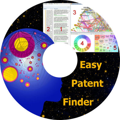 EasyPatentfinder CD