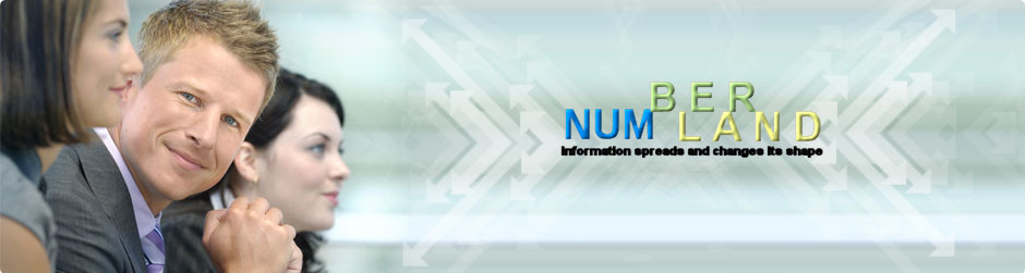 Numberland - New Processes, New Materials