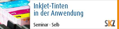 InkJet-Tinten in der Anwendung, 13.10. - 14.10.2015, Europäisches Zentrum für Dispersionstechnologie (EZD), Selb